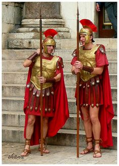Take a picture with the Roman Soldiers in Diocletian's Palace, Split, Croatia. Must remember this!!