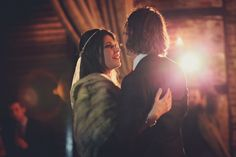 Andrea + Mark // The Green Building // Photos by Les Loups