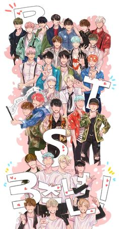 Credit to the owners that made the wallpapers! I have a lot of BTS wallpapers so enjoy. I didn't make these wallpapers but my co author Asia has made some Bts Bangtan Boy, Bts Jungkook, Applis Photo, Bts Drawings, Fanarts Anime, Fan Art, Bts Chibi, Bts Fans, Kpop Fanart