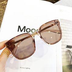 MS 2018 New Women Oversize Sunglasses Vintage Men Fashion Brand Designer Square Sun Glasses gafas de sol Eyewear - Sunglasses Women - Types Of Sunglasses, Cute Sunglasses, Oversized Sunglasses, Sunglasses Women, Sunnies, Vintage Sunglasses, Round Sunglasses, Moda Vintage, Vintage Men