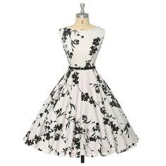 Vintage Retro 50s 60s Dress