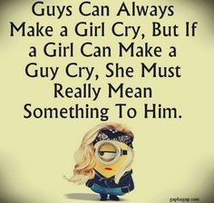 Funny Minion Jokes About Girls vs. Boys