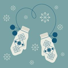 How to Create an Illustration of Scandinavian Mittens in Adobe Illustrator by Nataliya Dolotko, Winter is here! Today you learn how to create a pair of real Scandinavian mittens in Adobe Illustrator. Christmas Graphics, Christmas Art, Xmas, Red Mug, Adobe Illustrator Tutorials, Affinity Designer, Winter Theme, Graphic Design Illustration, Designs To Draw