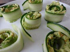 Avocado komkommer rolletje – Recept25071514
