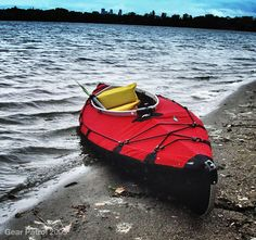 """Folbot Yukon Folding Kayak.  Bought one of these in 2000.  Never regretted the purchase.  It was the right rig for me in all conditions.  In ocean swells or rough water the boat more or less bends and """"gives"""" like the old Inuit skin boats did.  Provides a silent and very comfortable ride.  Recommend Folbot to anyone."""