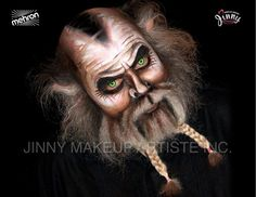 halloween makeup with a full beard - Google Search