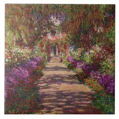 jardines de monet en fracia | Trayectoria en el jardín de Monet, Giverny de Clau Azulejo
