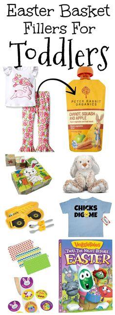 20+ Easter Basket Filler Ideas for Toddlers!