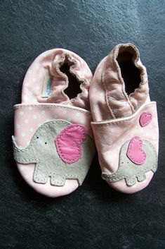 Robeez baby toddler girl leather shoes pink elephant size 6-12 month   fashion  clothing  shoes  accessories  babytoddlerclothing  babyshoes  (ebay link) 0984600b0