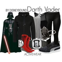 Disney Bound - Darth Vader (Found on Disneybound Polyvore)