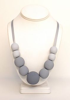 Ombre+Wooden+Bead+Necklace++Fifty+Shades+Wood+by+GildedGirlDesigns,+$22.50