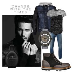 """change with times"" by sofiacalo ❤ liked on Polyvore featuring 3x1, Philipp Plein, Boohoo, Lacoste, Invicta, Calvin Klein, men's fashion and menswear"
