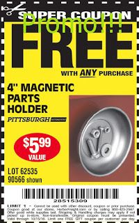 Best 25 harbor freight coupon ideas on pinterest vintage craft free harbor freight coupons sciox Image collections