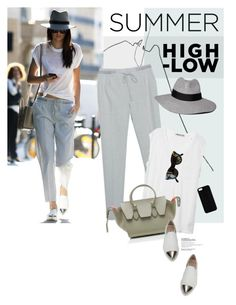 """""""Memorable Summer Outfit"""" by magdafunk ❤ liked on Polyvore featuring T By Alexander Wang, CÉLINE, Abercrombie & Fitch, Miu Miu and Maison Takuya"""