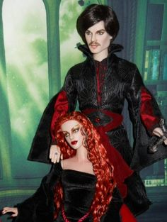 About Vampire Larry and LaCresi: Originally Damon Slavatore and Heart on your Sleeve