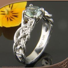 celtic knot puzzle engagement ring setting mount - Google Search