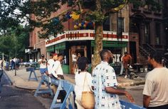 Spike's Joint as seen on opening day in August of 1990