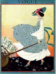 soyouthinkyoucansee:    Soyouthinkyoucansee  Spring Picking  June 1915