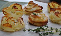 שורות שורות של עלעלי תפוחי אדמה