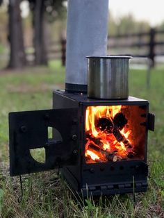 We design and create portable stoves for outdoor adventures. We have a DIY kit that turns an ammo can into a wood burning stove. We also have a small rocket stoves and large rocket stoves that break down completely flat for easy storage and packing. Portable Stove, Wall Tent, Camping Stove, Camping Gear, Tent Stove, Hiking Tent, Camping Checklist, Camping Equipment, Backpacking