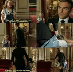 He is going to be an epic dad one day... The Royals Season 3