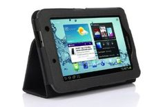 SupCase Slim Fit Folio Leather Tablet Case Cover for 7-Inch Samsung Galaxy Tab 2, Black (S3113-62A-BK) --- http://www.amazon.com/SupCase-Leather-Tablet-Samsung-S3113-62A-BK/dp/B006IHRNUY/?tag=affpicntip-20