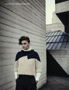 Arizona in i-D.  Crazy good styling in this editorial.
