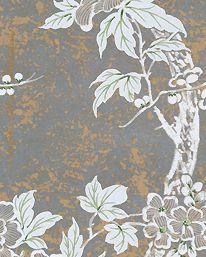 Tapet Marlowe Floral Sterling från Ralph Lauren