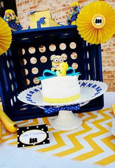 Minions Despicable Me Party | Despicable Me Minion Girl Play Date Party Planning ... | Let's Party