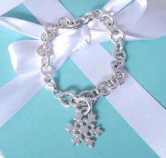 d99fcebad Tiffany & Co Silver Large Snowflake Winter Charm 8