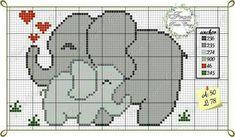 Fran Ponto Cruz Cross Stitch Fruit, Cute Cross Stitch, Crochet Diagram, Crochet Chart, Cross Stitching, Cross Stitch Embroidery, Easy Knit Baby Blanket, Baby Cross Stitch Patterns, Needlepoint