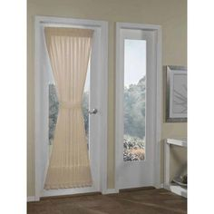 Better Homes and Gardens Crushed Voile Door Curtain Panel, 51x72