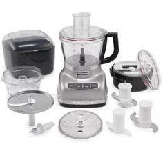 Food Processors 20673: Kitchenaid 14-Cup Food Processor With Exact Slice System And Dicing Kit Kfp1466c -> BUY IT NOW ONLY: $299.99 on eBay!