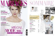 MARIAGES MAGAZINE N°282 - SEPTEMBRE, OCTOBRE, NOVEMBRE 2015 // David Maire Photographies