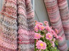Haken en meer: Gebreide sjaal !