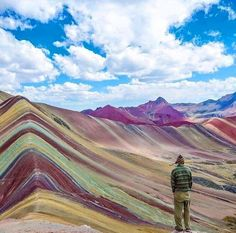 Somewhere in the world's longest continental mountain range is one of Peru's best kept secrets: the rainbow-colored Vinicunca Mountain. It's one of the mountains in the Willkanuta mountain range, which is itself a section of the very long Andes mountain range.           The region around this elusive mountain is inhabited by