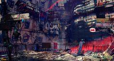 Dystopian City research:    Cyberpunk, Dystopia, Dark Future