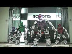 GANGNAM STYLE PARODY - BIOLOID ROBOT [강남스타일 패러디]