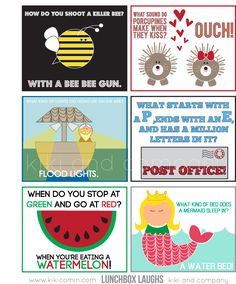 Lunchbox Laughs {Free Download} perfect for your kiddos lunchbox!