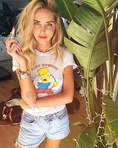 Instagram media by chiaraferragni - I'm ready and you?  wearing the new lipstick of @yslbeauty Volupté Tint In Balm  #yslbeauty #yslnotinnocent #AmericanDays