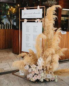 Floral Styling Auckland Wedding Florist New Zealand Floral Styling Auckland Wedding Florist New Zealand. Wedding Signage, Wedding Seating, Wedding Table, Rustic Wedding, Wedding Ideas, Wedding Details, Wedding Souvenir, Boho Wedding Decorations, Wedding Trends