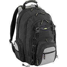 """Targus 17"""" CityGear Laptop Backpack - Black - via eBags.com!"""