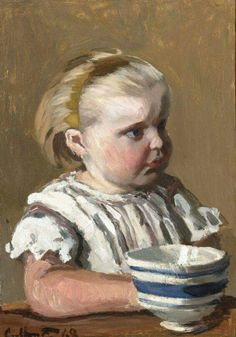 Claude Monet (Fr. 1840-1926) Child (1868) This is a vèry nice one!
