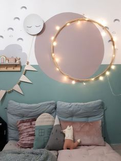 Natural Home Decor Cool Kids Rooms, Room Kids, Kids Decor, Home Decor, Decor Ideas, Kids Room Design, Little Girl Rooms, Baby Room Decor, Kids Bedroom