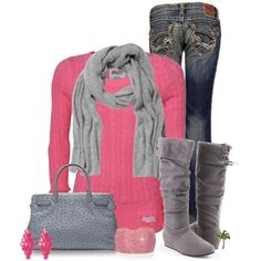 outfits | Casual Outfits | Bubble Gum | Fashionista Trends -- love this!!