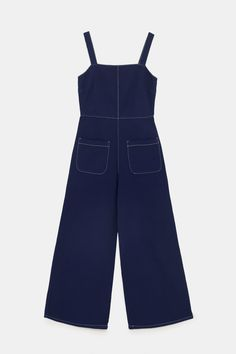 Long Overalls, Dungarees, Outfits For Teens, Girl Outfits, Fashion Outfits, Overall Skirt, Zara, Jumpsuit Pattern, Looks Style
