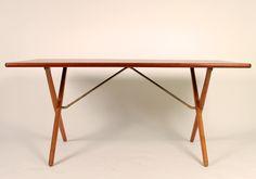 Cross-leg Table by Wegner