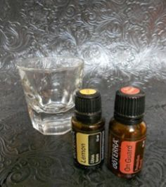 Immune Booster Shot with DoTerra Essential Oils! We do this every time we are getting sick! 2 tsp water, 1 drop each lemon and on guard, gargle! It's that simple! You can get rid of all those harmful over the counter products! Only dōTERRA offers Certified Pure Therapeutic Grade (CPTG) Essential Oils and Supplements. Check out business opportunity or purchase oils at www.mydoterra.com/joannebordelon