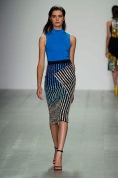 London FW S/S 2015 David Koma. See all fashion show at: http://www.bookmoda.com/?p=31031 #spring #summer #ss #fashionweek #catwalk #fashionshow #womansfashion #woman #fashion #style #look #collection #london #davidkoma