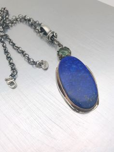 Excited to share this item from my shop: Oval lapis lazul and faceted green amethyst pendant Amethyst Pendant, Etsy Shop, Pendant Necklace, Trending Outfits, Unique Jewelry, Handmade Gifts, Green, Vintage, Fashion